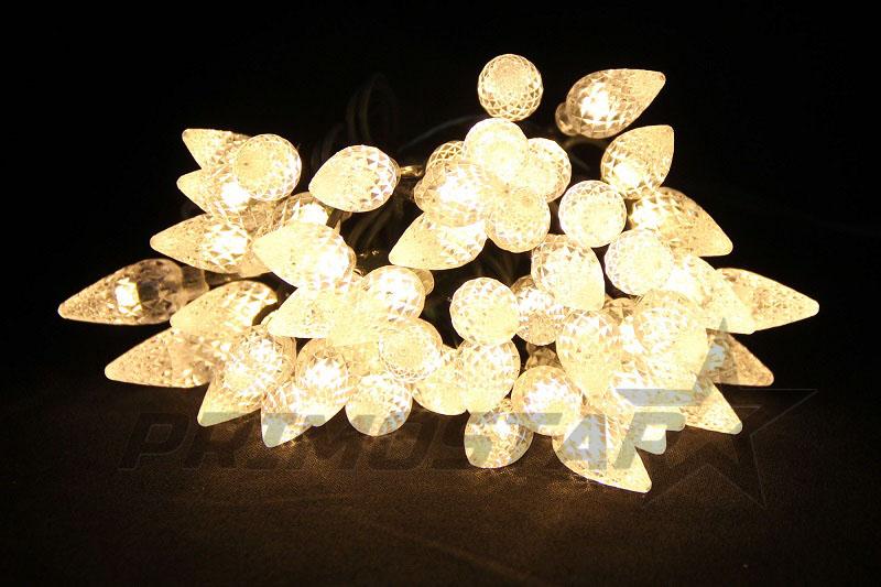 lampki led 50 szyszki barwa ciepla biel