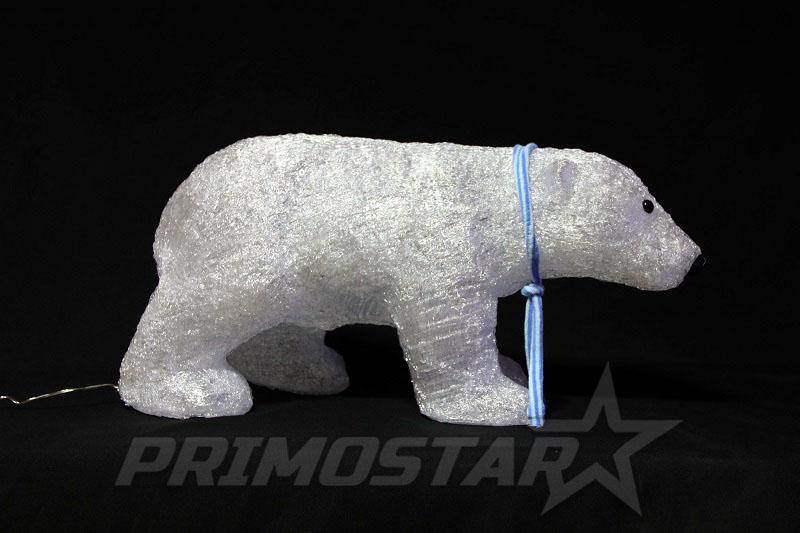 figurki led 200 ozdobny niedzwiedz polarny akryl 3d